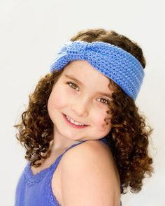 Turban Knot Headband Crochet Pattern via My Favourite Things