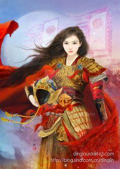 Mulan by dinglaura.deviantart.com on @DeviantArt