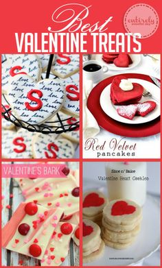 The best (and cutest) Valentine Treat Recipes! #recipe #valentinesday #valentine www.entirelyeventfulday.com