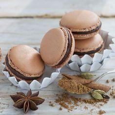 Lebkuchen-Macarons