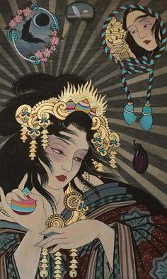 Claudia de Sabe - Amaterasu - VIS DEARUM - Mondo Bizzarro Gallery