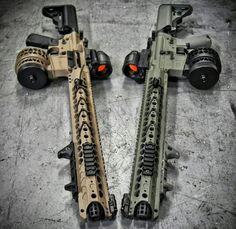 RAE Magazine Speedloaders will save you! Weapons Guns, Airsoft Guns, Guns And Ammo, Zombie Weapons, Armas Airsoft, Armas Wallpaper, Ar 15 Builds, Custom Guns, Custom Ar15