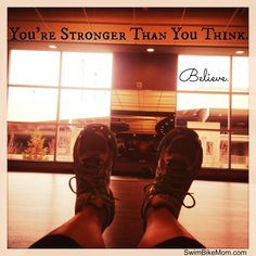 You're stronger than you think. #fitfluential #justkeepmovingforward #imcda