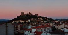 Un hermoso atardecer en Monforte-Galicia
