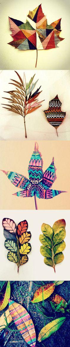 Beautiful Leaf Crafts   DIY & Crafts Tutorials