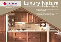 #Luxury Natura #Modular #Kitchen  For more details Visit : http://www.europlak.in/