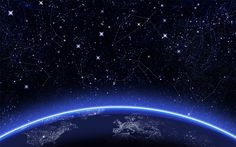 constellations- NOTD - Night sky With White Stripes Hd Space, Blue Space, Space Age, Night Sky Wallpaper, Star Wallpaper, View Wallpaper, Macbook Wallpaper, Wallpaper Space, Wallpaper Desktop