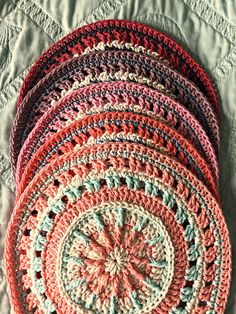 Crochet inspiration, Update on Princess Mandala CAL, and Free Crochet Patterns from Karla's Making It - www.karlasmakingit/crochet-inspiration-update-on-princess-mandala-cal-and-free-crochet-patterns-from-karlas-making-it