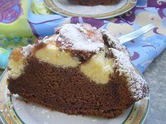 Tort de ciocolata cu bilute de branza Pudding, Cake, Desserts, Tailgate Desserts, Deserts, Custard Pudding, Kuchen, Puddings, Postres