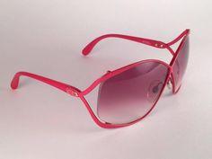 3fbb15474b Gray New Vintage Christian Dior 2056 30 Vibrant Red Rose Gradient Lenses  Sunglasses For Sale