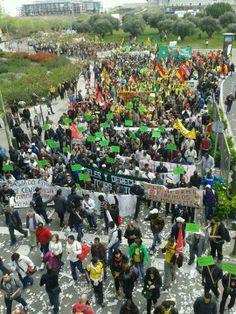 MARCHAS POR DIGNIDAD 22M: TOMA DE MADRID2 !!. #fb