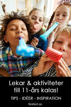 Escape games, skattjakter, mobilskattjakter och annat roligt som du kan fixa hemma för bästa 11-årskalaset!  #barnkalas #kalas #kalaslekar