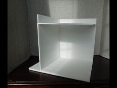 This week we are going to begin building a really simple corner roombox from foamcore. This would make a nice display piece for your minis or to use when tak... Miniature Dollhouse Accessories, Dollhouse Miniature Tutorials, Miniature Rooms, Modern Dollhouse, Diy Dollhouse, Dollhouse Miniatures, Barbie Furniture, Dollhouse Furniture, Foam Crafts