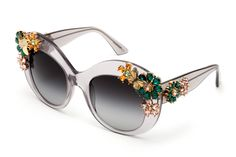 c02850f7824a Women s fumè oversize acetate glasses Enchanted Beauties by Dolce  amp   Gabbana dg4245b