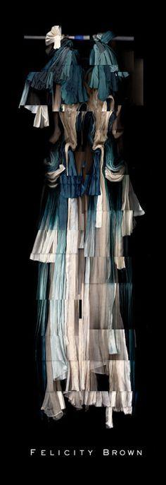 British fashion design I just stumbled upon love the layering of fabrics