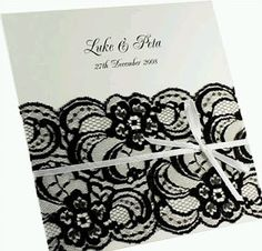 This pretty lace DIY wedding invitation could be adapted to become a table number at your reception. Lace Wedding Invitations, Diy Invitations, Invitation Ideas, Blue Wedding Dresses, Burgundy Wedding, Wedding Nails, Diy Wedding, Wedding Ideas, Trendy Wedding
