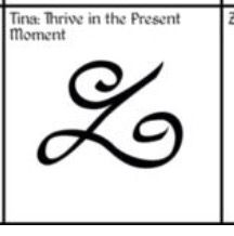 Thrive in this moment tattoo