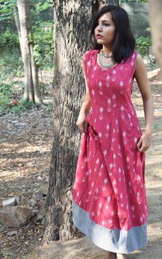 #ikat #dress #style #fashion #blogger #vintage #jewelry