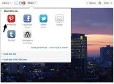 Flickr Adds Pinterest Buttons To Photo Sharing; All Images Will Be Pinned With Attributions
