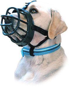 Baskerville Ultra Dog Muzzle, Soft Rubber Basket No Bite
