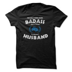 Are You The Husband Of A Bad Ass Farmer T-Shirt