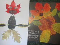 The Leaf Man book and activity in Kindergarten (From Teach Preschool)