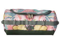 The North Face Base Camp Travel Canister - Small Ballet Pink Hawaiian Sunrise Print - Zappos.com Free Shipping BOTH Ways