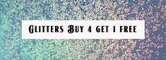 A & D Glitter Buy 4 Get 1 Free Nail Supply, Gel Polish, Fun Nails, Bling, Nail Art, Glitter, Amazing, Stuff To Buy, Free