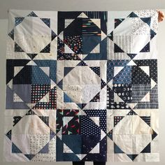Wendy's #magicstarsquilt pattern from Aneela Hoey