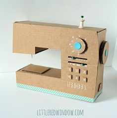 Let your kid feel like a young crafter by playing with this upcycled toy!
