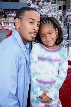 Luda and his adorable daughter, Karma, hit the red carpet.