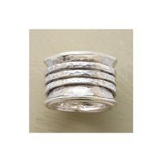 TAMBOURINE RING - Bands - Rings - Jewelry | Robert Redford's Sundance... ($98) via Polyvore