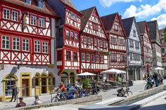 Franken authentisch erleben: Fachwerk in Ochsenfurt  ... #franken #fachwerk #ochsenfurt