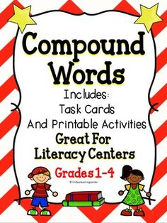 Compound WordsHave fun teaching students about compound words using this wonderful resource.  This book includes printable activities to use when teaching students about compound words.  Just print and copy this compound words book to enrich your language arts lessons.Thank you for visiting my store!Click on the links below to view additional items: All About Me  Perfect Punctuation  The Underground Railroad Terms:Copyright  linda'slearningcenter.