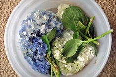 Like every other decor-obsessed blogger, I've got a major softspot for fresh cut hydrangeas.  T...
