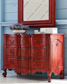 An American Housewife: Painted Furniture