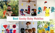15 Best Geeky Baby Mobiles For Your Nursery