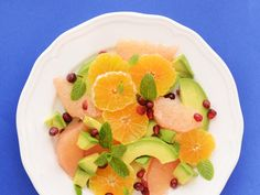 You'll be pleasantly surprised at the beautiful pairing between citrus and avocado. The acid from the citrus keeps the avocado from browning and adds a refreshing, tropical taste. Garnished with mint, this salad is light, simple, and irresistible. A sprinkle of pomegranate seeds seals the deal.  View Recipe: Avocado Citrus Salad with Mint