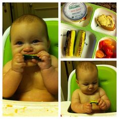Feeding your baby with BLW.....love this blog