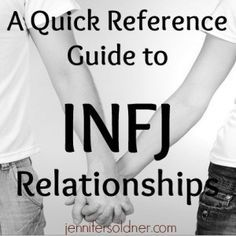 Simply put, sexual or physical experiences to an INFJ are something that they do with great purpose of showing love for another. If you are in a committed relationship with an INFJ, recognize that everything from a brief kiss to passionate love-making is perceived as an intensely spiritual experience of expressing feelings and should never be taken lightly. Truth trumps all. Because of their strong intuition, INFJs will always know when you are not being truthful. Even the tiniest white lie…