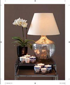 DIY: Make a gleaming, stylish mercury-glass lamp : Clinton Kelly's Freakin' Fabulous on a Budget