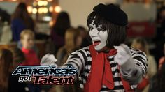 Larry The Mime: Nick Cannon Pulls Prank On Judges - America's Got Talent...