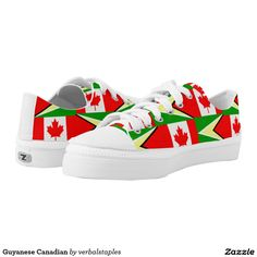 cd77e9639714 Guyanese Canadian Printed Shoes Printed Shoes