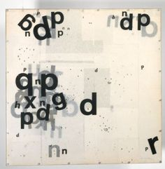 Mira Schendel , Graphic Object