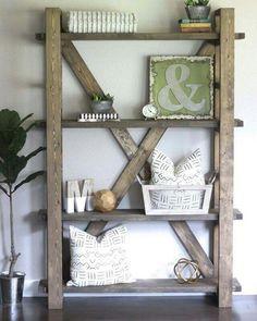 Rustic Bookshelf...