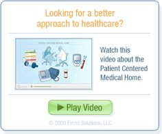 Good introduction to what a Patient Centered Medical Home (PCMH) might look like.