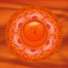 °Sacral Chakra Symbol ~ Svadhisthana by Ashnandoah