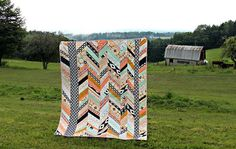 An Arizona Herringbone Quilt : :