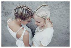 •Hair by Matt Minol and Jasmine Heckenberg •Photographer Kishka Jensen •Stylist Pheobe McKay by Jasmine Heckenberg on Bangstyle, House of Hair Inspiration