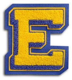 """""""E"""" royalty-free """"Sport"""" alphabet"""